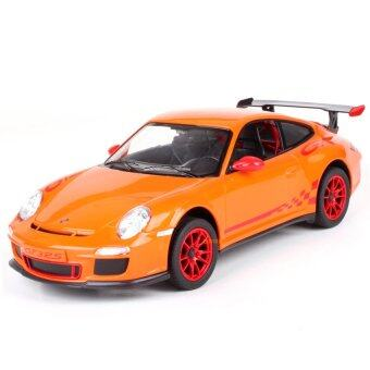 Uni รถบังคับวิทยุ รถบังคับดริฟ รถบังคับไฟฟ้า Porsche 911 GT3 RS 1/14 - Orange