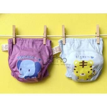 JOYO ROY กางเกงซับฉี่ซักได้ รุ่น Animal love (ลายช้าง - เสือ) ไซส์ 90