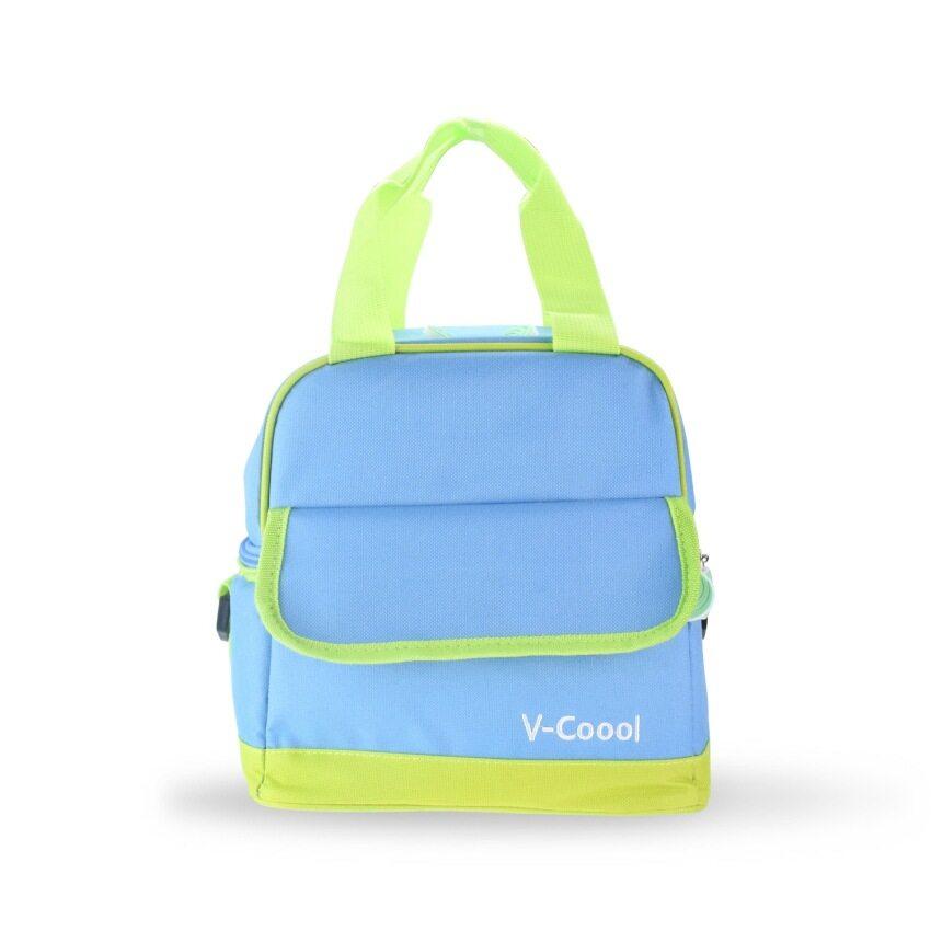 กระเป๋าเก็บความเย็น V-coool รุ่น VC-002 สีฟ้า ...