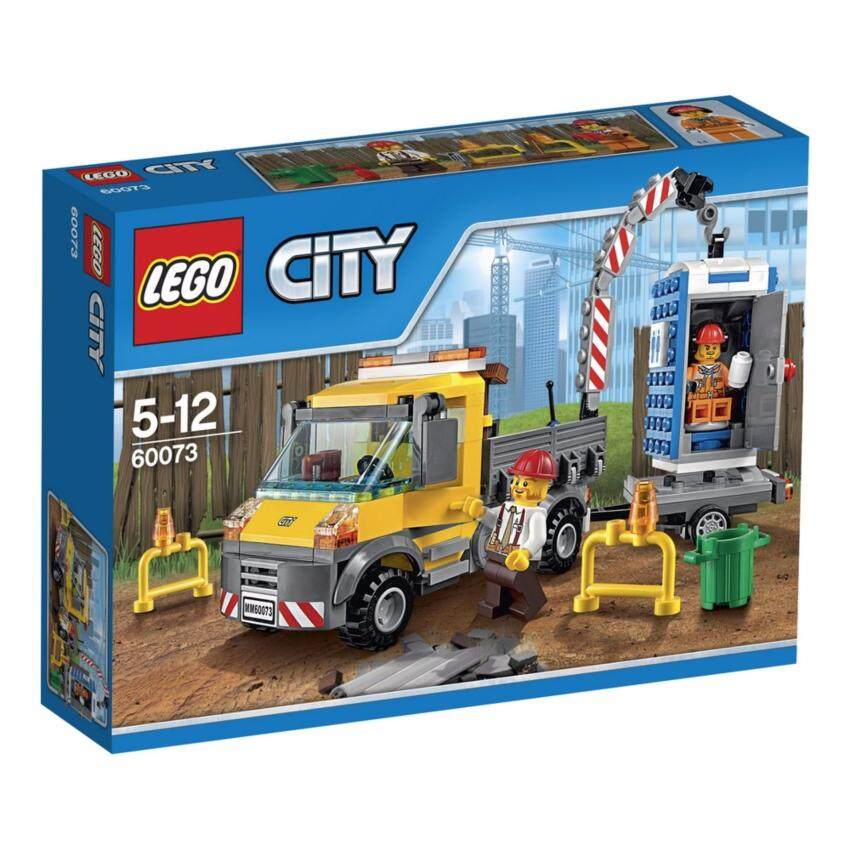 LEGO ตัวต่อเสริมทักษะ เลโก้ ซิตี้ เดโมลิชัน เซอร์วิช ทรัค - 60073 ...