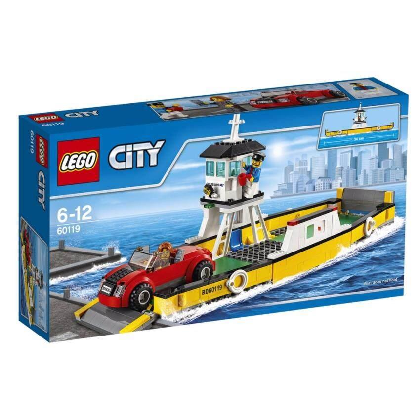 LEGO City Great Vehicle Ferry - 60119 ฟรี! Poly bag city vehicle