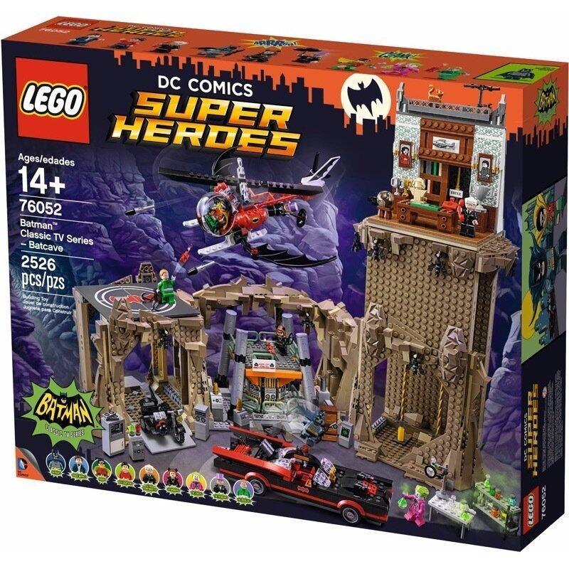 LEGO Super Heroes 76052 Batman Classic TV Series - Batcave ...