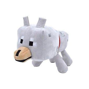 Lovely Cute Minecraft Wolf Plush Toys Minecraft Stuffed Wolf Animal Toy Doll Minecraft Toys