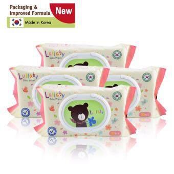 Lullaby baby wipes ทิชชู่เปียกลัลลาบาย แพคเกจจิ้งใหม่ จำนวน80แผ่น โปรโมชั่น ซื้อ 2 แพ็ค ฟรี 2 แพ็ค ราคา 299บาท