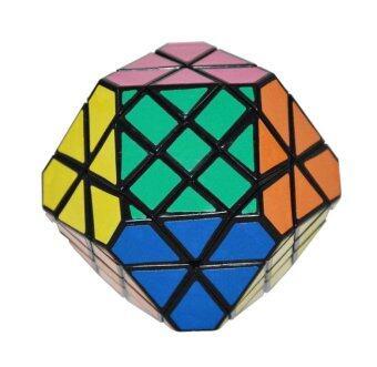 Magic Cube new challenge gift best toys Puzzle cube Educational toys black eighteen shaft gem shape strange-shape Fisher Cube (Intl)