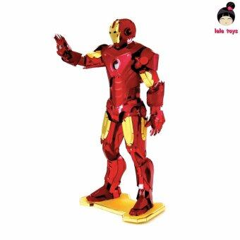 MARVEL The Avengers IRON MAN C 3D Metal model Etchingpuzzles new styles Chinses Metal Earth 3 Sheets DIY Creative gifts - Intl