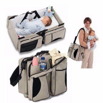 mittaGonG 3 in 1 Portable Bassinet Diaper Bag Travel Bassinet Change Station - intl