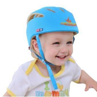Morestech หมวกกันกระแทก สำหรับเด็ก สีฟ้า
