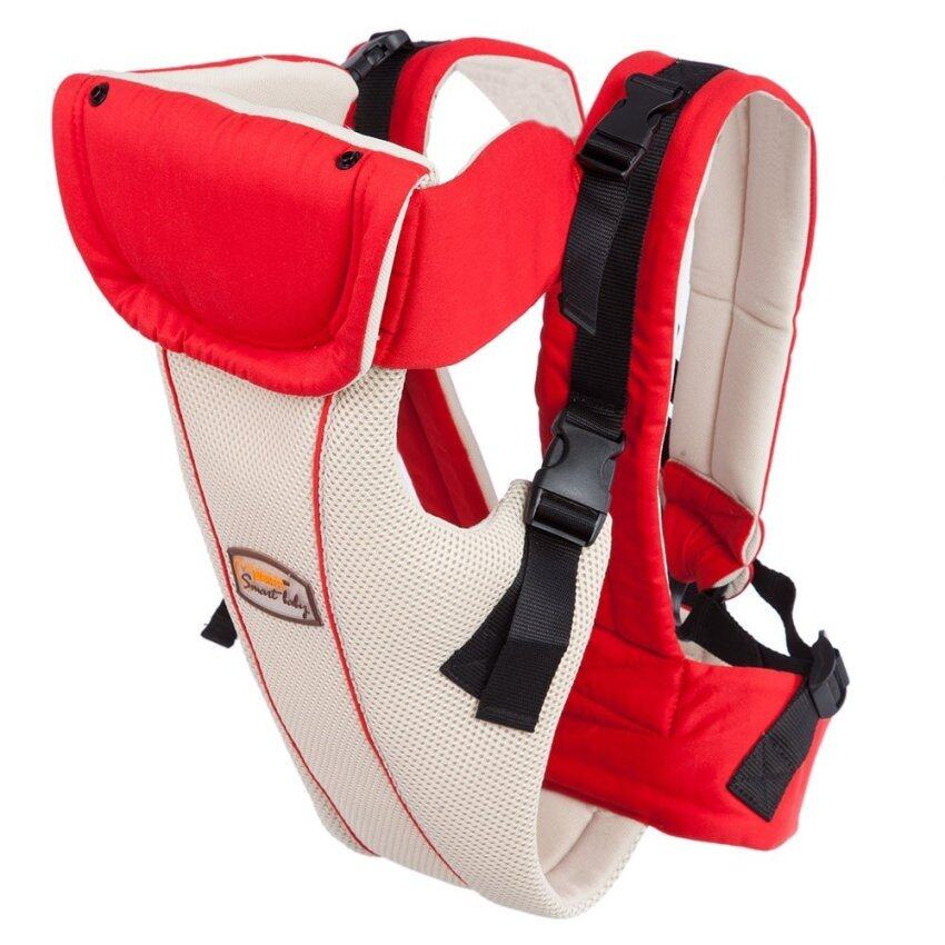 Multipurpose Breathable Adjustable Buckle Cotton Infant Babies Carrier - intl
