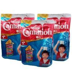 Nestle Carnation 1 Plus นมผงคาร์เนชัน วันพลัส รสจืด 550 กรัม (3 ซอง) ถูกๆ
