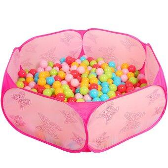Pink Kids Play Tent Pool Children Tent Ball Pool Baby Toys Outdoor Indoor Fun & Sports Lawn Tent