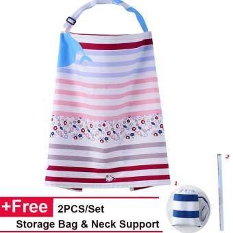 คุณแม่พยาบาลแม่ครัวผ้ากันเปื้อนผ้าอ้อมเด็กให้นมบุตรเลี้ยงลูกด้วยนมแม่ (Khaki Stripe) - intl