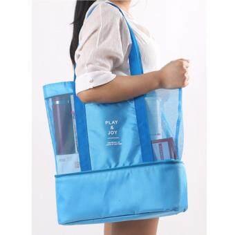 กระเป๋าสัมภาระ Play&Joy-สีฟ้า