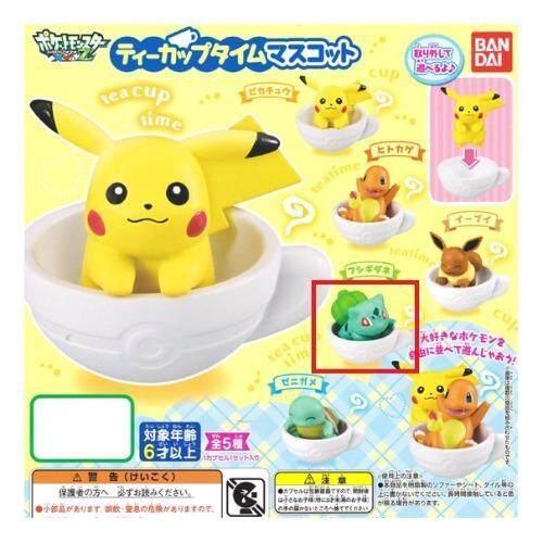 ด่วน Pokemon Mini Figure in cup โมเดล โปเกมอนนั่งในถ้วย-04 ลดราคา