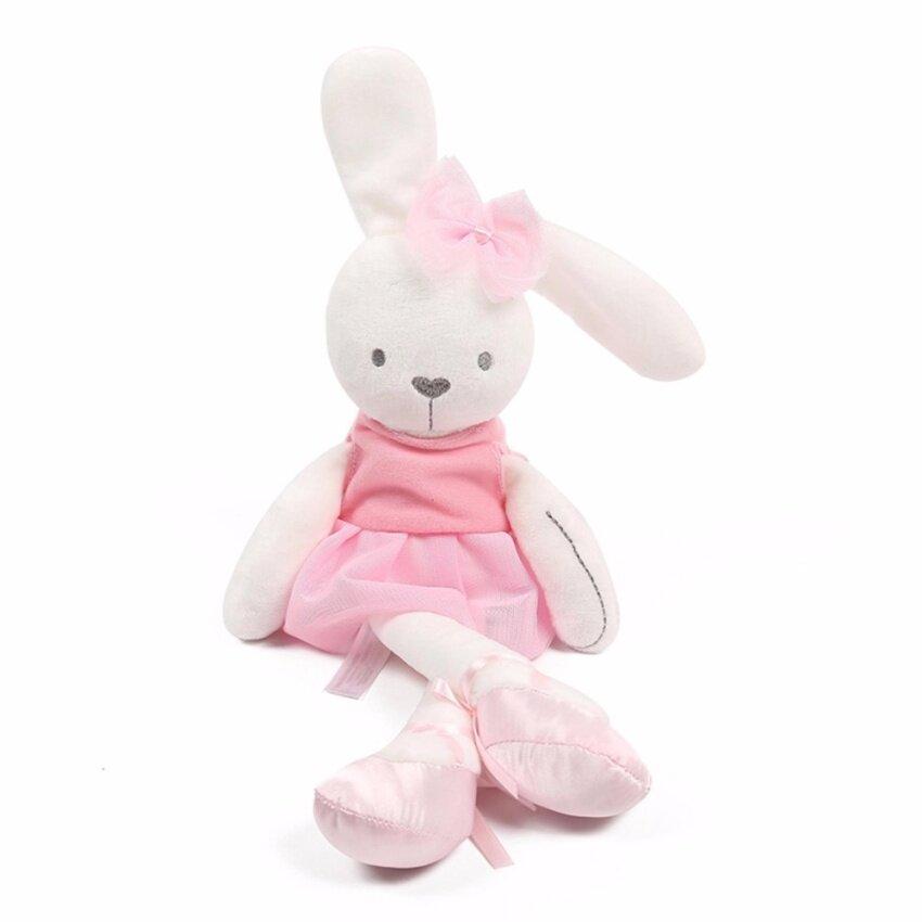 ตุ๊กตากระต่ายเน่า ตุ๊กตาสำหรับเด็กเล็ก - สีชมพู
