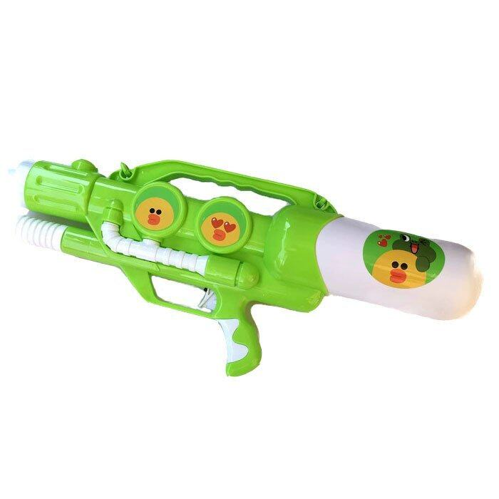 Rctoystory ปืนฉีดน้ำไลน์ ปั้มลม (สีเขียว)