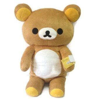Rilakkuma ตุ๊กตา ริลัคคูมะ ยืน ขนาด 80 ซม. ( สีน้ำตาล )