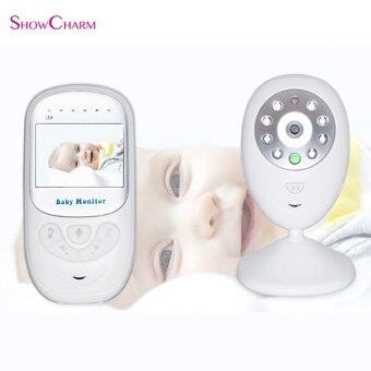 SHOW CHARM Multifunctional LCD Display Care Device Intercom Wireless Baby Monitor - intl