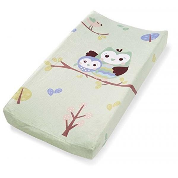 Summer Infant Changing Pad Cover, Who Loves You Owl - intl