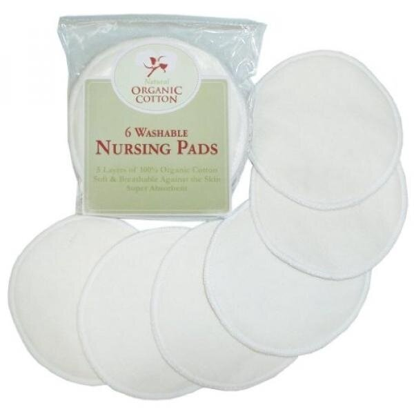 TL Care 100% Organic Cotton Nursing Pads with HPA Lanolin - intl