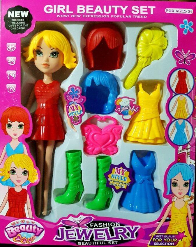 T.P.TOYS แต่งตัวตุ๊กตาแฟชั่น Girl Beauty Set