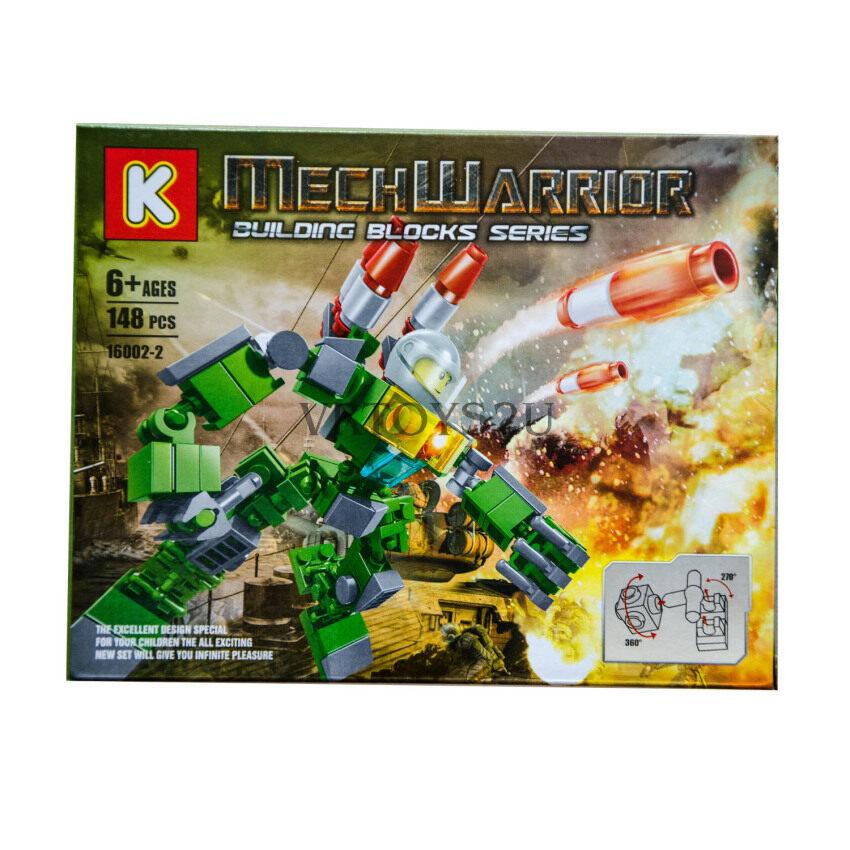 VRTOYS2U เลโก้หุ่นยนต์ 148 ชิ้น No.16002-2