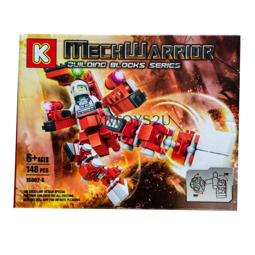 VRTOYS2U เลโก้หุ่นยนต์ 148 ชิ้น No.16002-6