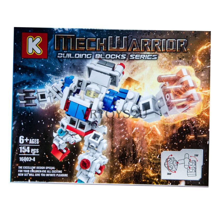 VRTOYS2U เลโก้หุ่นยนต์ 154 ชิ้น No.16002-4