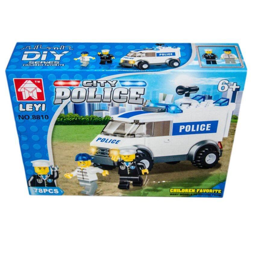 VRTOYS2U เลโก้ City Police 78 ชิ้น No.8810