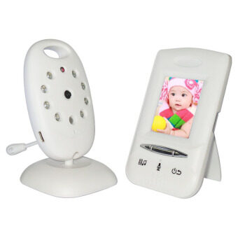Wireless Digital LCD Color Baby Monitor Camera Audio Intercom Video Night Vision