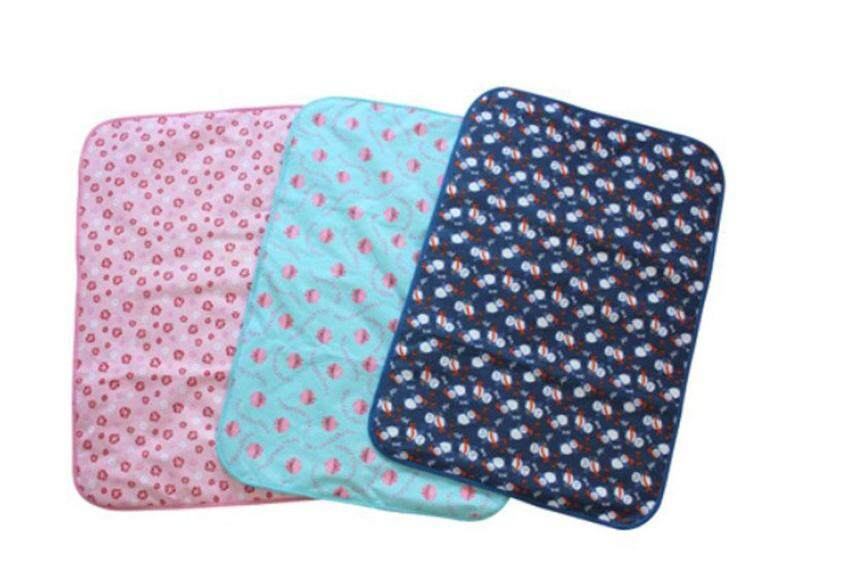 xudzhe Baby Infant Reusable Cotton Cloth Waterproof Urinal Pad Cover Mat Mattress Pad,Small Size
