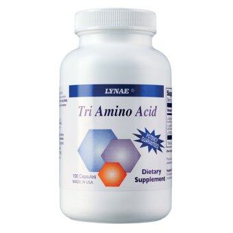 กรดอะมิโน 3 ชนิด Tri Amino Acid (100 Capsules)