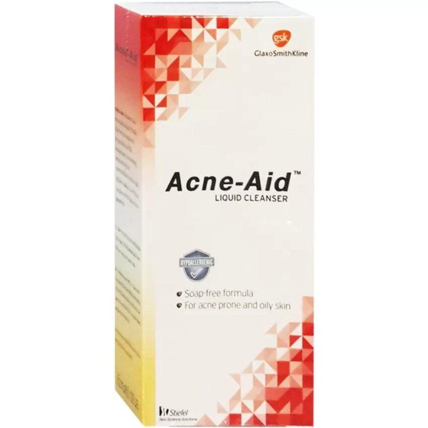 Acne-Aid Liquid Cleanser 100mlแอคเน่-เอด ลิควิด คลีนเซอร์ ...