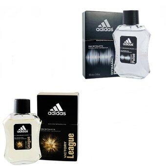 Adidas Victory League For men 100ml. + Adidas Dynamic Pulse Cologne for Men 100 ml พร้อมกล่อง