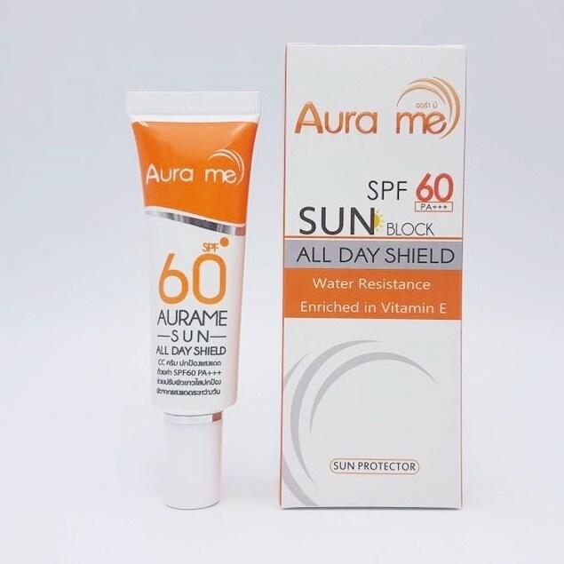 Aura me AURAME All Day Shield Cream SPF60 PA+++ 20g ...