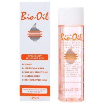 Bio oil ผลิตภัณฑ์รักษาแผลเป็น รอยแตกลาย ขวดใหญ่ 125 ml.