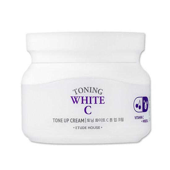 Etude House Toning White C Toning Up Cream 60ml ครีมวิตตามินC
