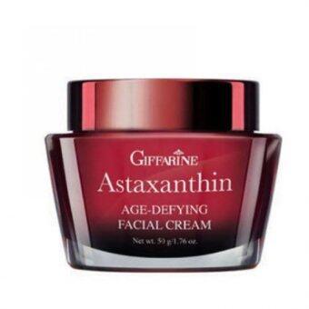 Giffarine ครีมบำรุงผิวหน้าสูตรเข้มข้นพิเศษสำหรับกลางคืน Astaxanthin Age-Defying Facial Cream