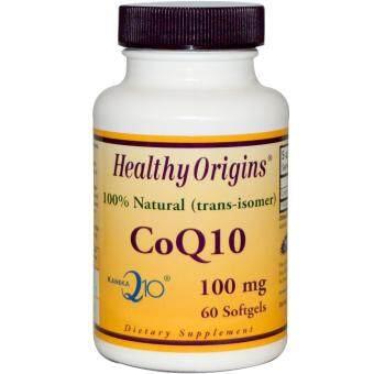 Healthy Origins CoQ10 Gels 100 mg 60 Softgels