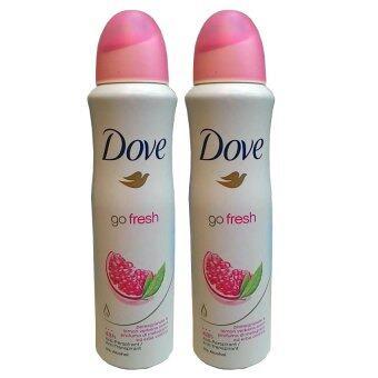 Dove go fresh Deo Roll-on mit Granatapfel & Zitronenverbene Duft 150ml (2ขวด)