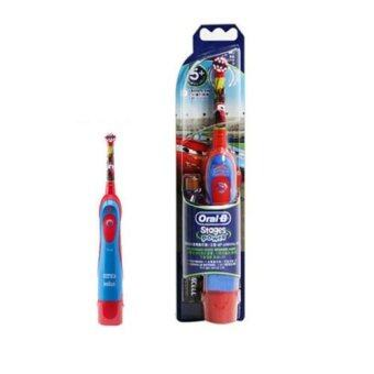 Braun Oral-B D2 D2010 Disney Car Kids Electric Toothbrush GENUINE