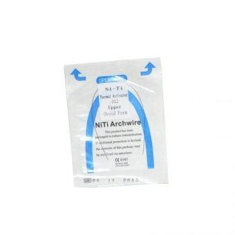 0.020*180mm lower 1 pack/10pcs Dental Orthodontic NITI Thermal Activated Round Arch Wires