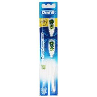 Braun Oral-B CrossAction Power Replacement Brush Heads, Soft 1Pack(2PCS)