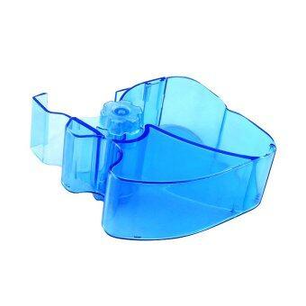 New Dental Blue Color Cotton Roll Dispenser Molar Shaped