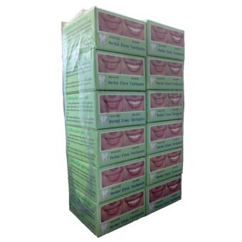 ยาสีฟันสมุนไพรธรรมชาติสูตรกานพลู Herbal Clove Toothpaste