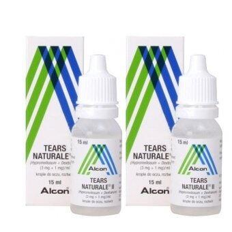 Alcon Eye Dropsน้ำตาเทียมTears Naturale II 15 ml. x 2ชิ้น