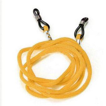Buytra Glasses Strap Neck Cord Adjustable (Yellow)