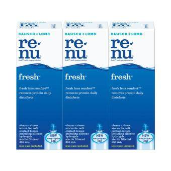 Bausch & Lomb Renu Fresh Contact Lens Solution
