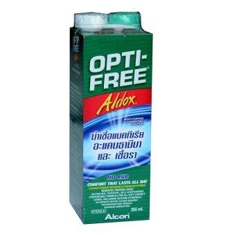 ALCON Opti-Free Aldox ออฟติ-ฟรี ออลด็อซ สำหรับล้างคอนแทคเลนส์ 355 ml. (1 ขวด)