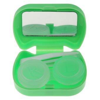 BolehDeals Pocket Contact Lens Case Travel Storage Kit Holder Container Box Green